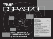 Buy Yamaha DSP-A500 Operating Guide by download Mauritron #247583