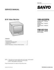 Buy Fisher. Service Manual For VM-6620PA by download Mauritron #217645