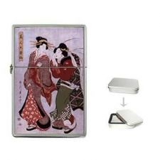Buy Geisha Women Japanese Art Cigarette Flip Top Lighter
