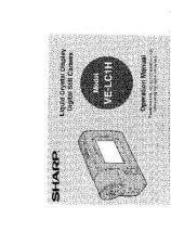Buy Sharp VELC1H-009 Service Manual by download Mauritron #210705