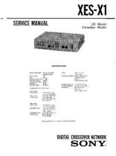 Buy Sony XES-Z50 Service Manual. by download Mauritron #245940