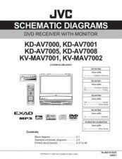 Buy JVC KD-AV7008 Service Manual. On by download Mauritron #271200
