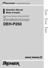 Buy Pioneer 50193 Operation manual DEH-P250 20021024163577300 by download Mauritron