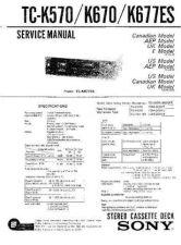 Buy Sony TC-K222ESG by download Mauritron #245376