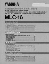 Buy Yamaha MLC16E Operating Guide by download Mauritron #248753