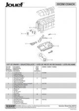 Buy Jouef No.00015 Ocem Coach Service Sheets by download Mauritron #206151