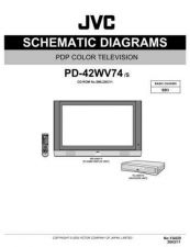 Buy JVC PD-42WV74E SERVICE MANUAL by download Mauritron #220601