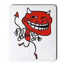 Buy Troll Devil Meme Rage Comic Art Computer Mouse Pad