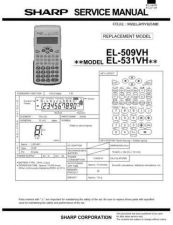 Buy Sharp EL462S Technical Information by download Mauritron #232862
