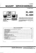 Buy Sharp. XL40-50H_SM_DE(1) Manual by download Mauritron #212090