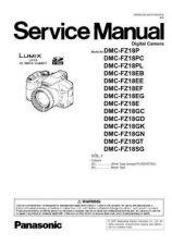 Buy Panasonic DMC-FZ8P Service Manual with Schematics by download Mauritron #266814