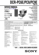 Buy Sony DCR-TRV33_TRV33E lev3 Service Manual by download Mauritron #239803