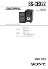 Buy Sony SS-CEP707 Service Manual. by download Mauritron #244653