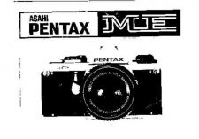 Buy PENTAX ME CAMERA INSTRUCTIONS by download #119061
