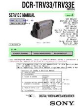 Buy Sony DCR-TRV60TRV60ETRV70 Technical Information by download Mauritron #235534