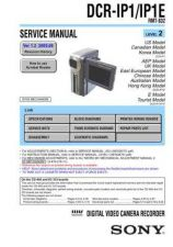 Buy Sony DCR-TRV15 Service Manual by download Mauritron #239703
