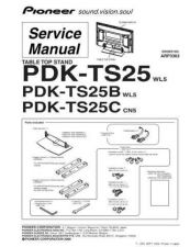 Buy Pioneer PDK-TS24-2 Service Manual by download Mauritron #234715