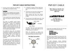 Buy AMERITRON PNP5DY INSTRUCTIONS by download #117217