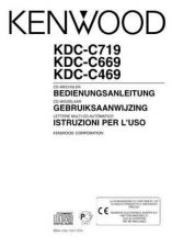 Buy Kenwood KDC-C469FM Operating Guide by download Mauritron #221890