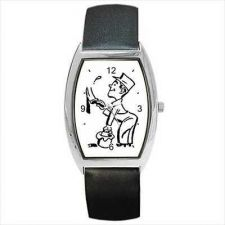 Buy House Painter Home Decorator Retro Cartoon Wrist Watch