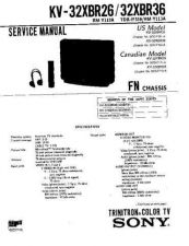 Buy Sony KV-32S12-32S16-32TW67-32TW68-32V16 Service Manual. by download Mauritron #