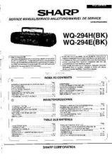 Buy Sharp. WQ294H-E_SM_GB-DE-FR(1) Service Manual by download Mauritron #211783
