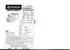 Buy Hitachi TK-3598E Service Manual by download Mauritron #264390