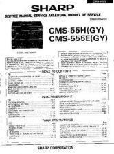 Buy Sharp CMS55H-555E -DE-FR Service Manual by download Mauritron #208718