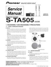 Buy Pioneer S-STP500 Manual by download Mauritron #228158