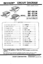 Buy Sharp SF2014-2114-2214 PG GB-JP Service Manual by download Mauritron #209616
