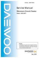 Buy Daewoo. KOG-6CAB5S. Manual by download Mauritron #213085