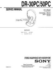 Buy Sony DR-6010 Service Information by download Mauritron #237753