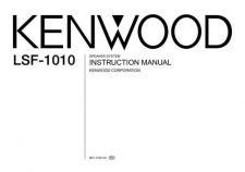 Buy Kenwood LS-X50 Operating Guide by download Mauritron #219657