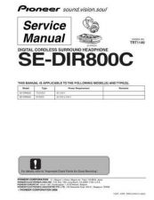 Buy Pioneer S-W3700 Manual by download Mauritron #228162