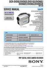 Buy Sony DCR-TRV103TRV110TRV110ETRV110PTRV203TRV210 Service Manual by download Maur