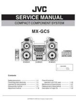 Buy JVC MX-GC5J Service Manual Schematic Circuit. by download Mauritron #271954