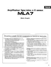 Buy Yamaha MLA7F Operating Guide by download Mauritron #248729