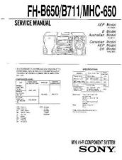 Buy Sony FLD-KB300 Service Manual by download Mauritron #240758