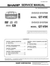 Buy Sharp QTV5E-H Service Manual by download Mauritron #210261