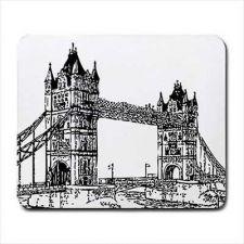 Buy London Bridge UK Art Computer Mouse Pad