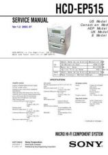 Buy Sony HCD-EP515 Manual by download Mauritron #229099