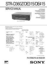 Buy Sony STR-DE515 Manual by download Mauritron #229863