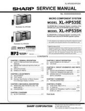 Buy Sharp. XLHP535E-H_SM_GB Manual by download Mauritron #212155