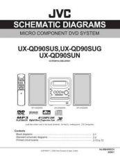 Buy JVC UX-QD90SUG Service Manual by download Mauritron #272924