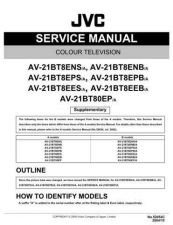 Buy JVC AV21BF10EJS Service Manual Schematic Circuit. by download Mauritron #269485
