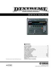 Buy Yamaha DTXTREME E Manual by download Mauritron #256345