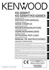Buy Kenwood KS-5200HT Operating Guide by download Mauritron #222837