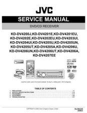 Buy JVC KD-DV4200J by download Mauritron #271225