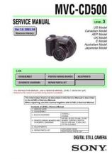 Buy Sony MVC-FD100FD100HFD200FD200H Technical Information by download Mauritron #23