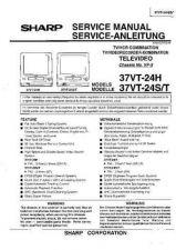 Buy Sharp 37VT24 -DE Service Manual by download Mauritron #207817